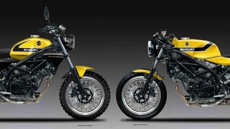 ทำขายเถอะครับ Suzuki SV650 Cafe' Racer และ Scrambler จากนักออกแบบชื่อดัง