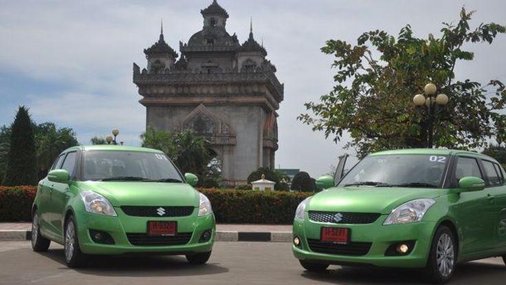 "Suzuki Swift สีใหม่ Energy Green (Limited Color) จัดคาราวานทดสอบเส้นทางสู่ AEC ใน""Swifter Way… Swifter's Green"""