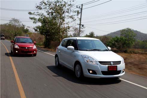 Suzuki ส่ง Swift 2013 เกียร์ธรรมดา แก้ปัญหาส่งมอบไม่ทัน ปรับเป้าเป็น 2.4 หมื่นคัน