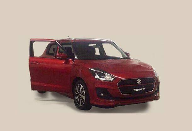 หลุดภาพเต็มคัน Suzuki Swift เจนเนอเรชั่นใหม่