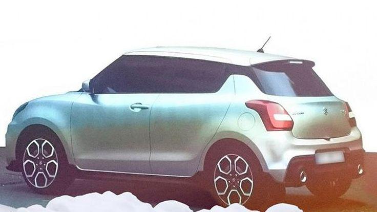 Suzuki Swift Sport เจนเนอเรชั่นต่อไปจะใช้เครื่องยนต์เทอร์โบ