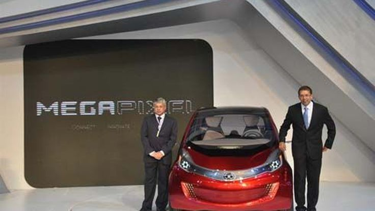 Tata โชว์ MegaPixel concept ครั้งแรกในเอเชีย พร้อมเปิดตัว Xenon Max CNG