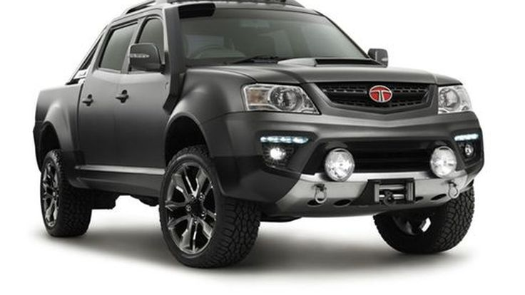 Tata Xenon Tuff Truck Concept กระบะแดนโรตีแต่งสุดเท่
