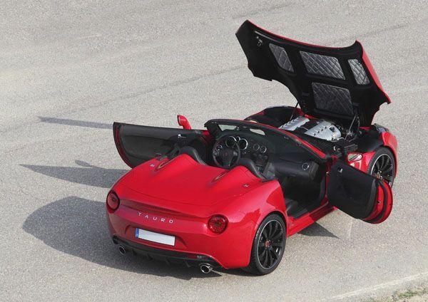 ยลโฉม Tauro V8 Spider รถสปอร์ตโรดสเตอร์จากสเปน เคาะค่าตัว 100,000 ยูโร