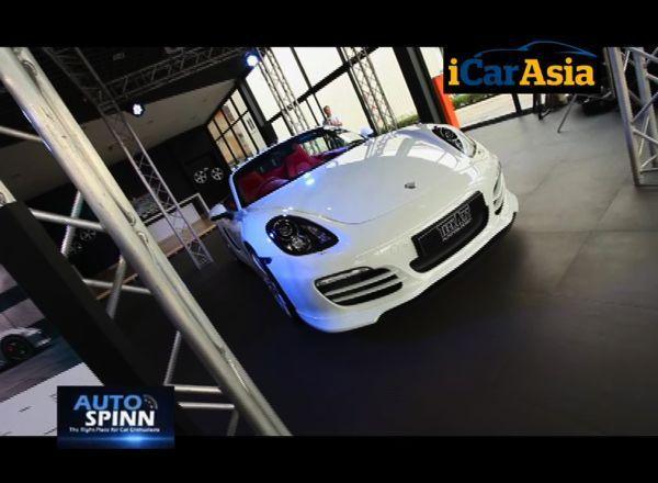 VDO ภาพงานเปิดโชว์รูม TechArt พร้อมโชว์ชุดแต่งล่าสุดสำหรับ Porsche Boxster 981 : MT-Check up Eps.7