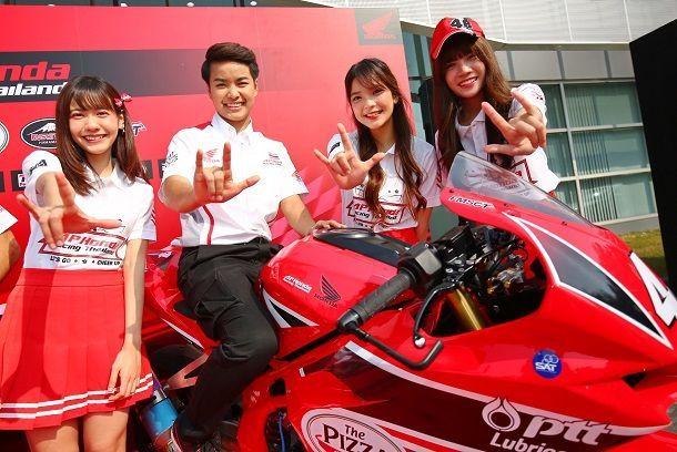 เอ.พี. ฮอนด้า วางโรดแมปปั้นเด็กไทยสู่สนามโมโตจีพี สร้างสีสันดึง 4 สาวBNK48 เป็นทีมแอมบาสเดอร์