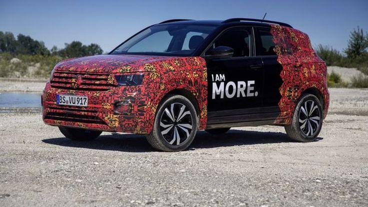 เผยภาพแรกของ 2019 T-Cross SUV คันเล็กน้องใหม่จาก Volkswagen