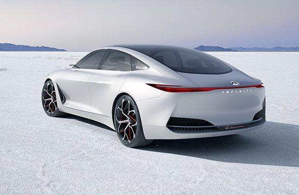 ภาพแรกแบบชัดๆ Infiniti Q Inspiration Sedan Concept รถซีดานต้นแบบสุดเพรียว