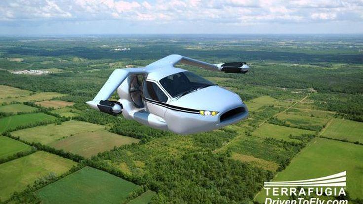 Terrafugia TF-X รถไฮบริดบินได้ สำหรับหนีรถติดในอีก 10 ปีข้างหน้า