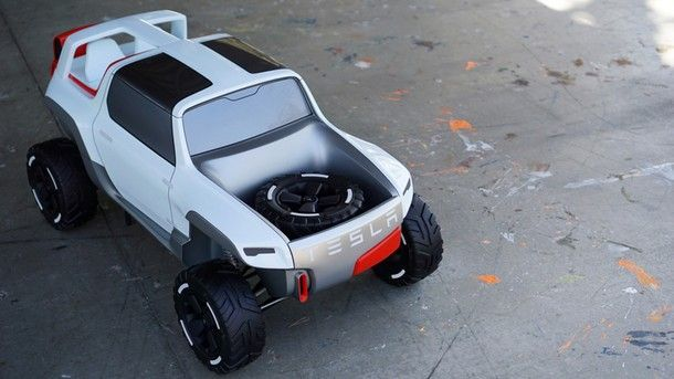 Tesla Allterrain Concept คอนเซปต์รถปิคอัพพลังงานไฟฟ้า จากเทสลา