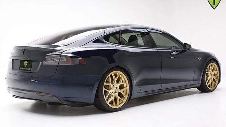 Tesla Model S แต่งสวยรวยเสน่ห์ ค่าตัวกระฉูด 205,820 เหรียญฯ