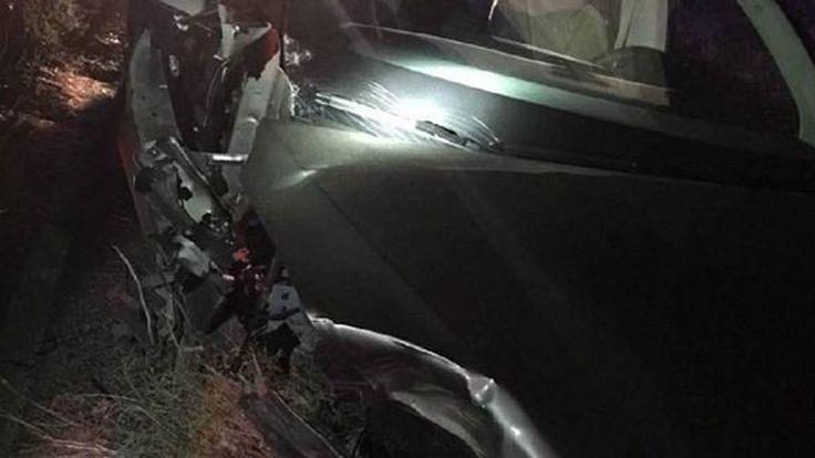 อุบัติเหตุรายวัน!? โหมด Autopilot ของ Tesla ทำรถ Model X ชนพังยับไปอีกคัน