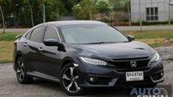 [Test Drive] New Honda Civic Turbo RS หล่อ หรู แรง ครบครัน