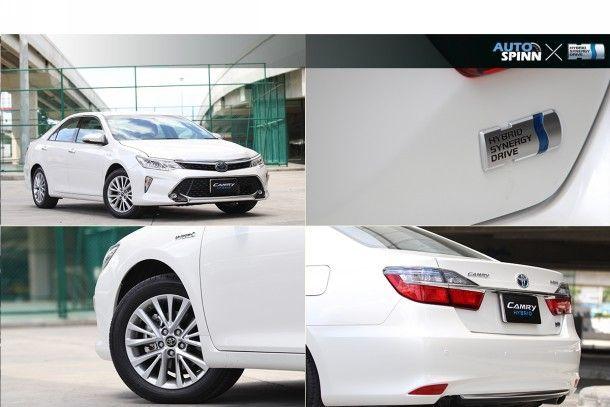 ทดสอบการขับขี่ Toyota Camry Hybrid MY2017 รุ่นปรับใหม่ สวยหรู ดูสปอร์ตยิ่งขึ้น
