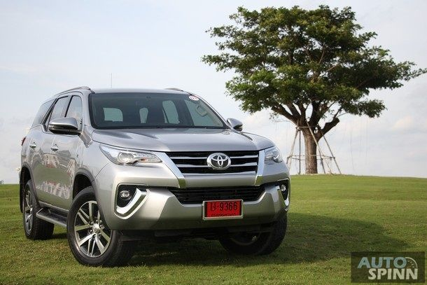 [Test Drive] New Toyota Fortuner 2.4V 4x4 รุ่นปรับใหม่ เพิ่มดิสก์เบรค 4 ล้อ อัดออพชั่น อัพลุคใหม่ กับค่าตัว 1.499 ล้านบาท