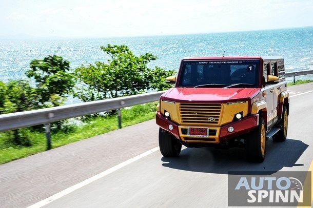 [Test Drive] The New TR Transformer 2 อเนกประสงค์ฝีมือคนไทย หล่อล้ำ บึกบึน ถึงไหนถึงกัน