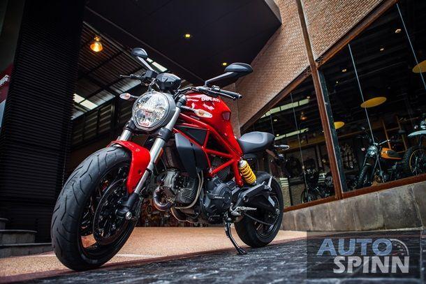[Test Ride] 2017 Ducati Monster797 การกลับมาของเครื่องยนต์ระบายอากาศ