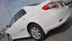 ขับทดสอบ Toyota Altis 1.8E โฉมปรับเล็กเติม E85 เส้นทางพระราม 9 - สุวรรณภูมิ