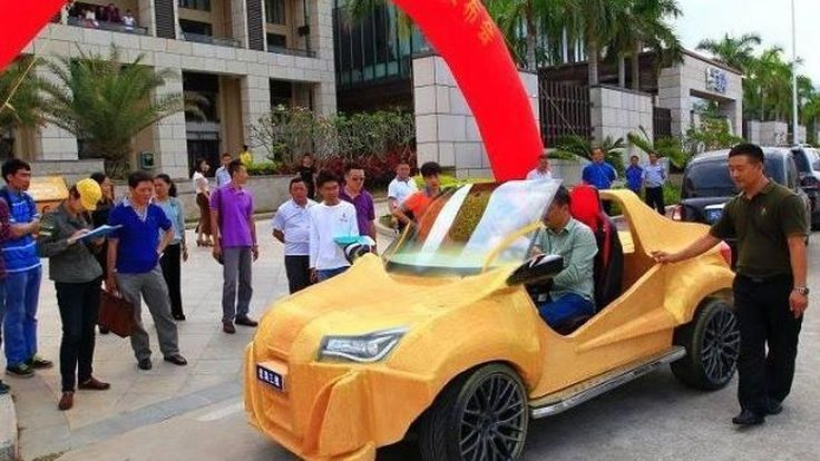 จีนทำได้!!! รถยนต์คันแรกที่เกิดจากเทคโนโลยีพิมพ์ 3 มิติ มาพร้อมน้ำหนักตัวแค่ 500 กิโลกรัม