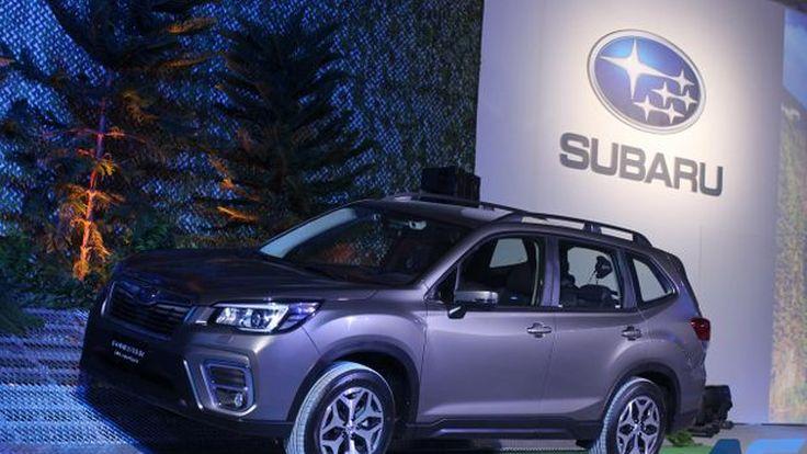 The All-New Forester 2019 SUV สายพันธ์แท้ใหม่หมดทั้งภายในและภายนอก