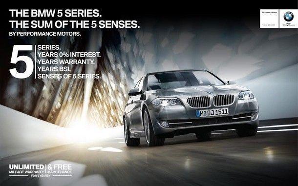 THE BMW 5 SERIES. THE SUM OF THE 5 SENSES เปิดโสตประสาทสัมผัสทั้ง 5 กับ สุนทรียภาพการขับขี่เหนือระดับ