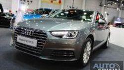 [BIG2016] New Audi A4 ซีดานหรู รุ่นใหม่ พร้อมราคาสุดเร้าใจเริ่มต้นที่ 2.499 ล้านบาท