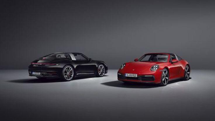 The new Porsche 911 Targa เจเนอเรชันที่ 8 ค่าตัวเริ่มต้น 12.1-13.45 ล้านบาท