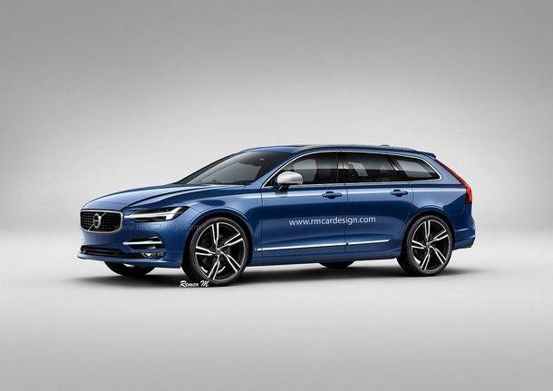 ภาพแบบ New Volvo V60 รุ่นใหม่ บึกบึนมากขึ้น พร้อมคาดว่าใกล้เคียงรุ่นผลิตจริงมากที่สุด