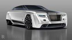 ภาพการออกแบบที่คาดว่าเป็น Rolls-Royce Phantom รุ่นใหม่ มาดสปอร์ต แปลกตากว่าเดิม