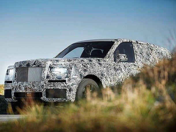 เอากับเค้าบ้าง ! Rolls-Royce เตรียมส่ง SUV สุดหรูรุ่นแรกในนาม Cullinan เปิดตลาดยนตกรรมอเนกประสงค์