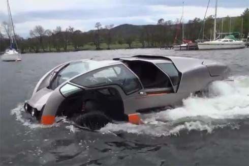 ไม่กลัวน้ำท่วม! The Scamander สุดยอดยานพาหนะสะเทิ้นน้ำสะเทิ้นบก