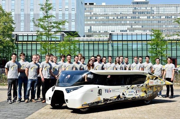 [ชมคลิป] นักศึกษาจากเนเธอร์แลนด์เผยโฉมรถยนต์พลังงานแสงอาทิตย์รุ่นใหม่ ที่เหมาะกับชีวิตประจำวันมากขึ้น