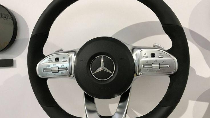 ชมภาพการออกแบบ พวงมาลัยใหม่ทั้ง 3 สไตล์ ของ Mercedes-Benz A-Class รุ่นใหม่ในอนาคต