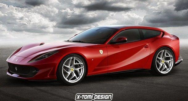 สวยไปอีกแบบ !! กับ Ferrari 812 Shooting Brake จากการออกแบบของ X-Tomi