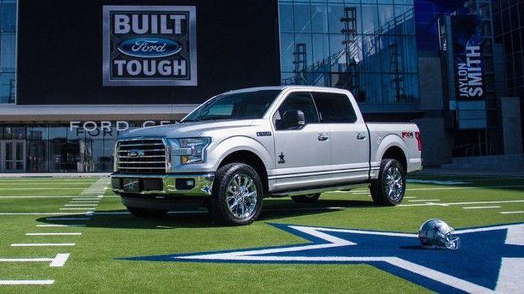 Ford เปิดตัว F-150 limited edition สำหรับแฟน Dallas Cowboys ตัวยง