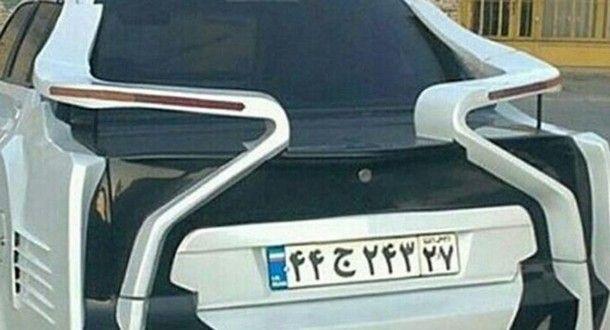 คนมีความฝัน !! หนุ่มอิหร่านออกแบบท้ายรถตัวเอง เป็นสปอร์ตคาร์ในฝันอย่าง BMW i8