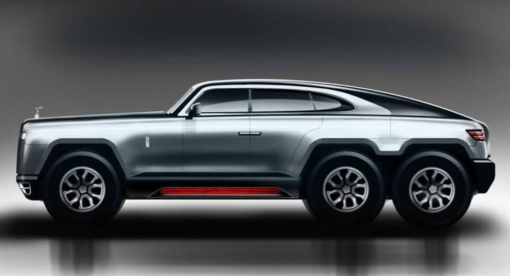 Rolls-Royce 6x6 SUV สุดหรู กับการออกแบบสุดหลุดโลก
