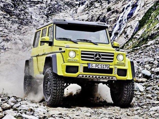Mercedes-Benz เตรียมหยุดผลิต G500 4×4 Squared SUV พันธุ์ลุยสมรรถนะสูง 422 แรงม้า รุ่นพิเศษปลายเดือนนี้