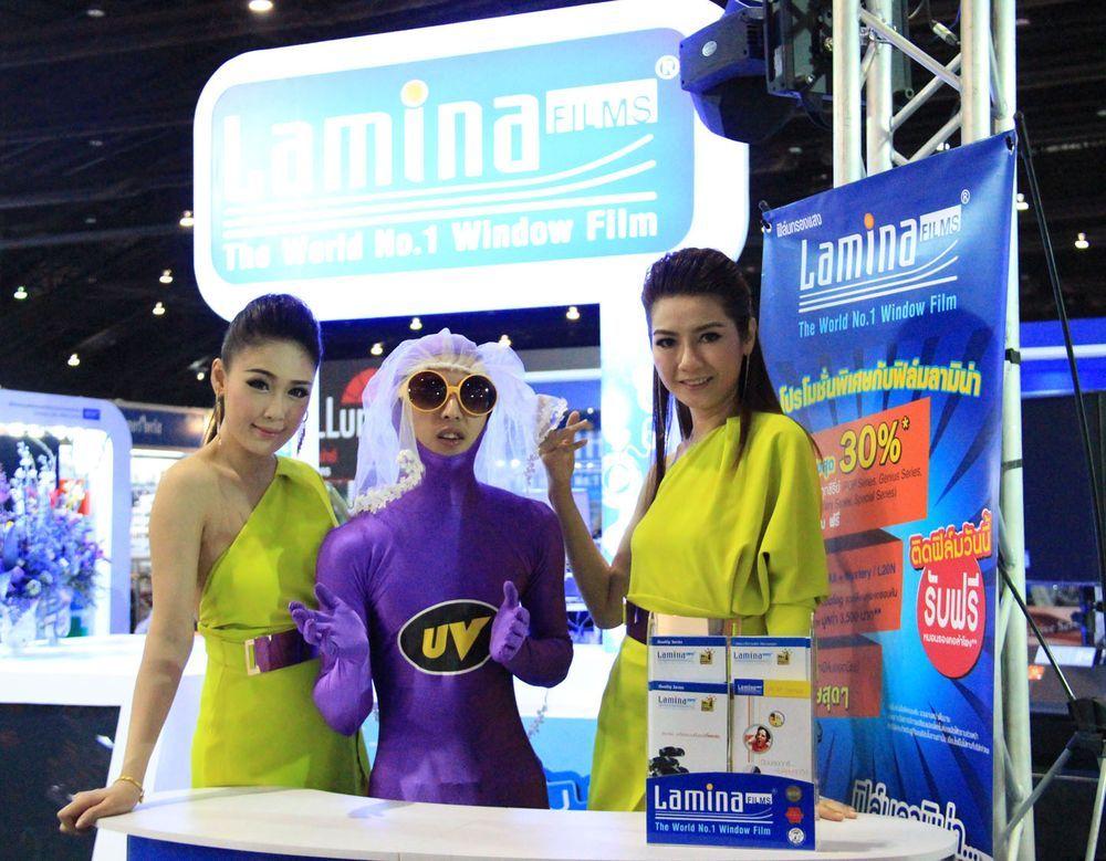 [TIME2014] ลามิน่ามั่นใจรักษาเป้าขาย 760 ล้านบาท ทะยานรับรางวัลยอดเยี่ยมธุรกิจยานยนต์ต่อเนื่อง 5 ปี