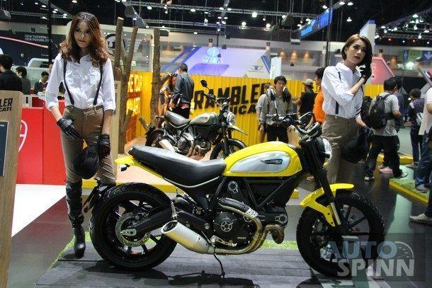 [TIME2014] Ducati Scrambler เปิดราคา 3.7 แสน  เอาใจหนุ่มสาวยุคใหม่