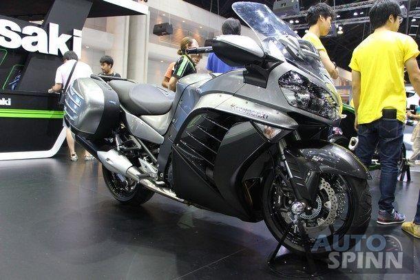 [TIME2014] Kawasaki 1400 GTR ABS อีกหนึ่ง Supersport สาย Touring