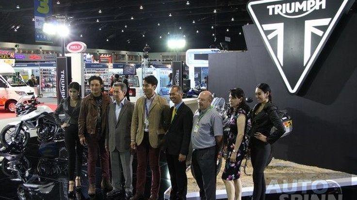 [TIME2014]   Triumph  รีแบรนดิ้ง โลโก้ใหม่ พร้อมปรับโครงสร้างราคาลง 30-40%