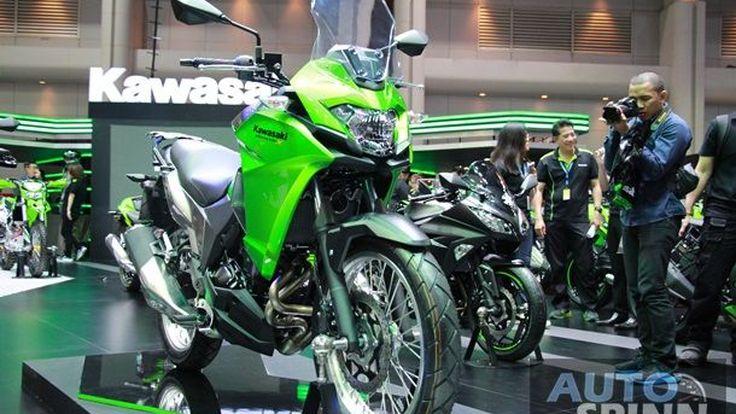 [TIME2016] Kawasaki Versys-X300 เปิดตัวเฉียด 2 แสนบาทพร้อมส่งมอบในไทยทันที