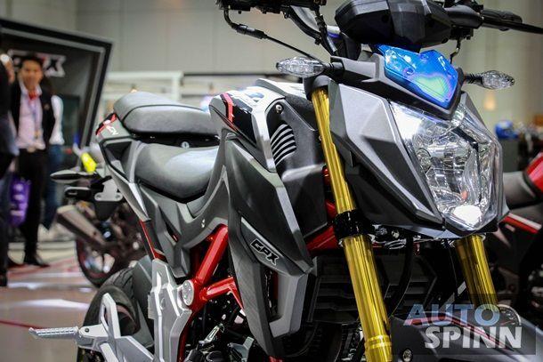 [TIME2016] GPX Racing ส่งรถใหม่ 4 รุ่นเปิดราคา Demon150GN 5.85 หมื่นบาท