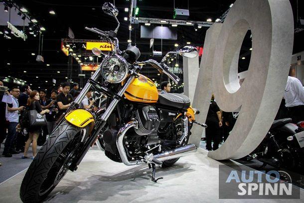 [TIME2016] Moto Guzzi บุกไทยส่ง V6Roamer และ V6Bobber ชูโรงในงาน Motor Expo2016