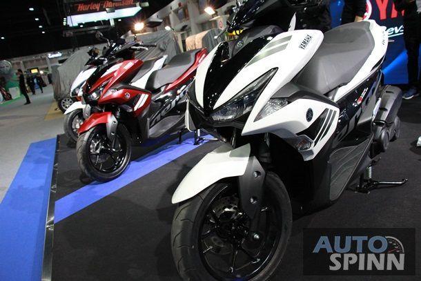 [TIME2016] เปิดราคา Yamaha AEROX155 ตัวท็อปสุด 7.39 หมื่นบาท