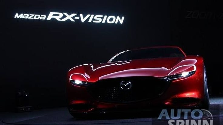 [TMS2015] มาสด้า อาร์เอ็กซ์-วิชั่น รถต้นแบบขุมพลังโรตารี่ สกายแอคทีฟ-อาร์