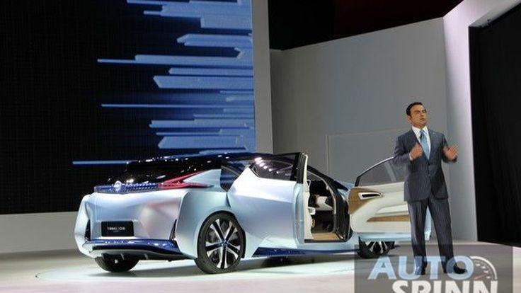 [TMS2015] นิสสันโชว์วิสัยทัศน์ผู้นำ ผ่านไอดีเอส รถต้นแบบขับเคลื่อนอัตโนมัติเต็มรูปแบบ