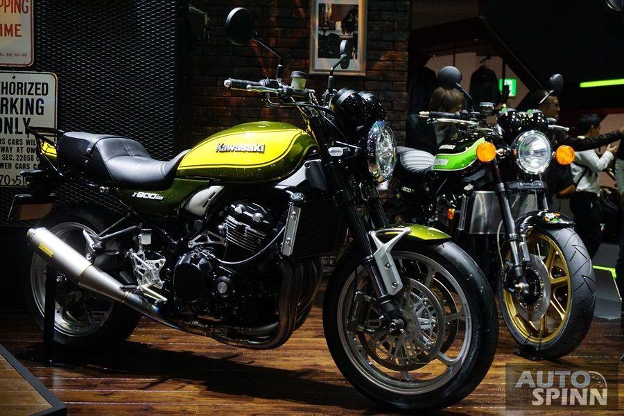 [Tokyo2017] พาชม 2018 Kawasaki Z900RS สปอร์ตเรโทรดาวรุ่งกระแสดีและตัวแต่งจากโตเกียว
