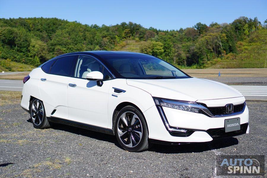 [Tokyo2017] Honda Clarity ยนตกรรมไฟฟ้า 5 ที่นั่งกับ 3 ออพชั่นเทคโนโลยีการขับเคลื่อน